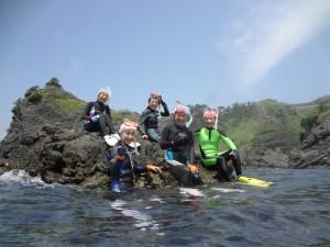 snorkeling wet-suit