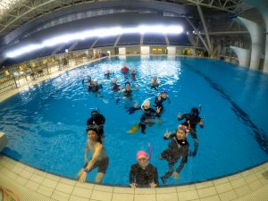 【実践編】スキンダイビング講習会 - 横浜国際プール -