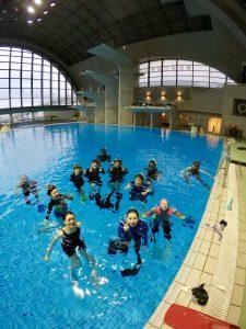 【実践編】スキンダイビング講習会 - 東京辰巳国際水泳場 -