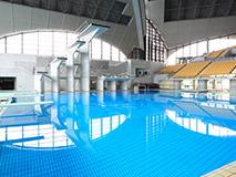 辰巳国際プールのダイビングプール